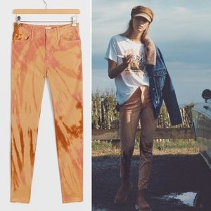 MOTHER The Looker High Rise Skinny Corduro…